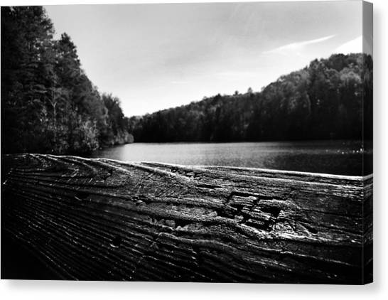 Canvas Print featuring the photograph GG by Kelly Hazel