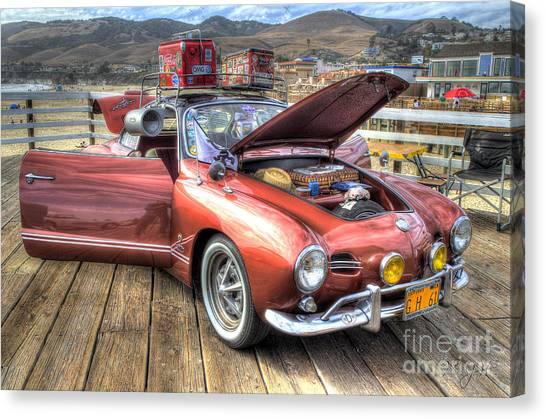 Ghia On Vacation Canvas Print