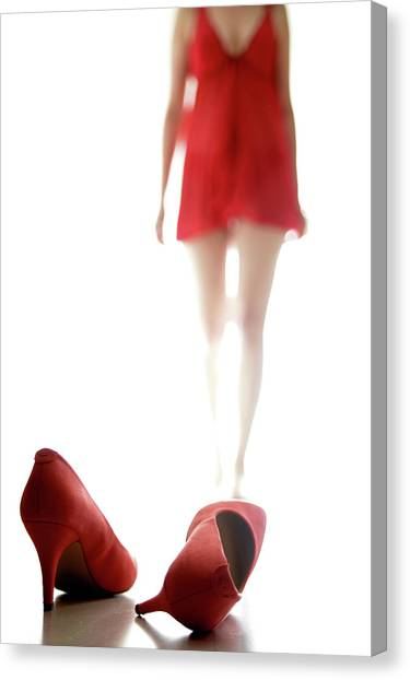 Dress Canvas Print - Ghost #2 by Williama