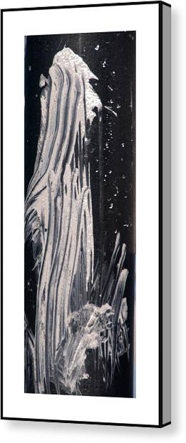 Ghost Abstract Canvas Print by Geraldine Alexander
