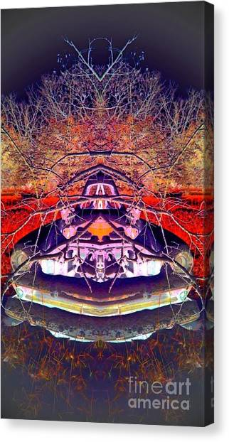 Ghost Car Canvas Print