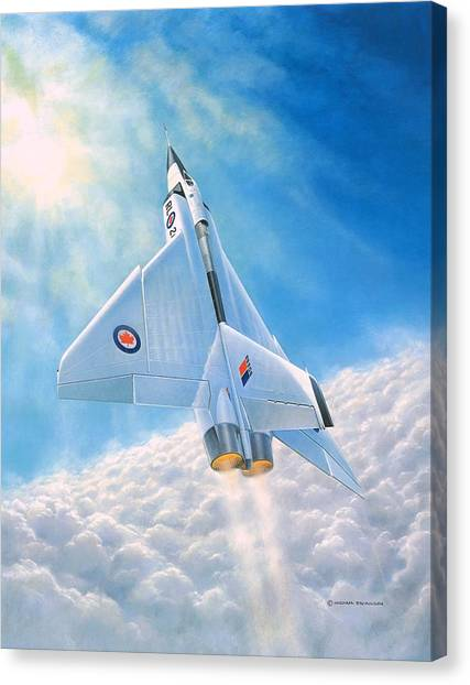 Ghost Flight Rl206 Canvas Print