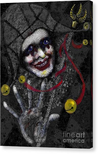 Ghost Harlequin Canvas Print