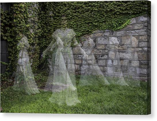 Ghost In The Garden Canvas Print