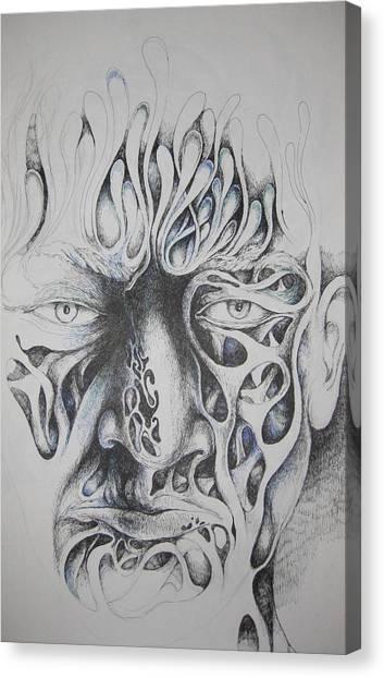 Ghost Canvas Print by Moshfegh Rakhsha