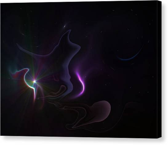 Ghost Nebula Canvas Print by Ricky Haug
