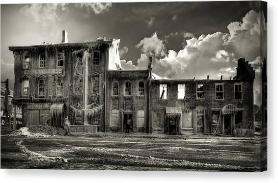 Ghost Of Our Town Canvas Print