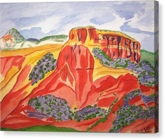 Ghost Ranch New Mexico Canvas Print