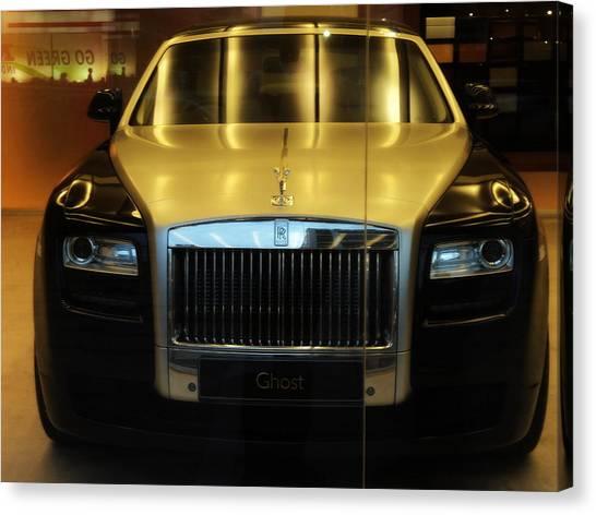 Rolls Royce Ghost Canvas Print