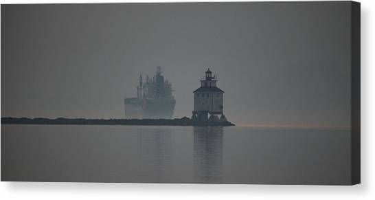 Sleeping Giant Canvas Print - Ghost Ship by Chris Artist