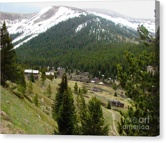 Ghost Town Canvas Print by Stephen Schaps