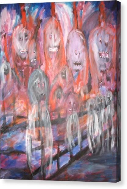Ghost Walk Canvas Print by Randall Ciotti
