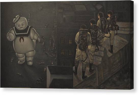 Ghostbusters Canvas Print - Ghostbusters by Riard