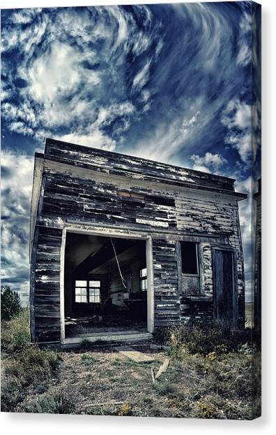 Drywall Canvas Print - Ghostly Cage by Starlux  Productions