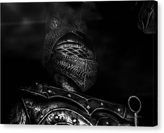 Ghostly Knight Canvas Print