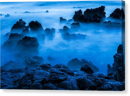 Ghostly Ocean 1 Canvas Print