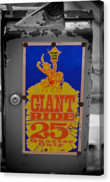Giant Ride 25 Canvas Print
