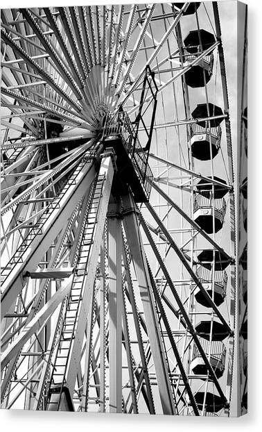 Giant Wheel Canvas Print