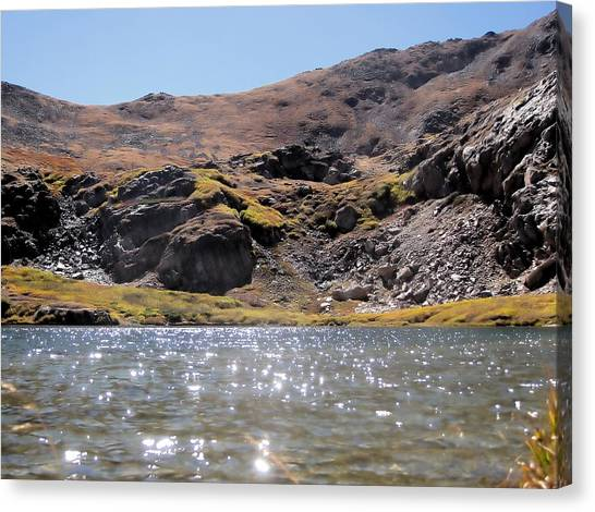 Gibson Lake Canvas Print