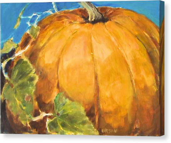 Gigantic Pumpkin Canvas Print