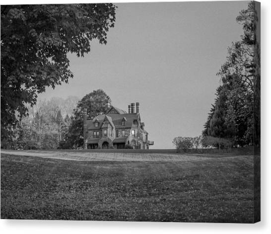 Gilded Age Mansion Canvas Print