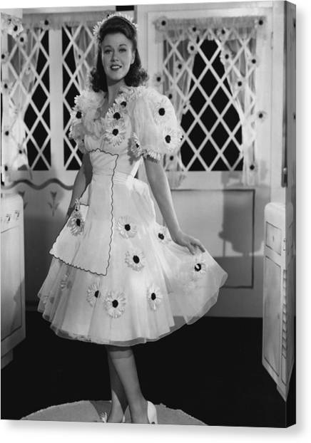 Mirages Canvas Print - Ginger Rogers by Retro Images Archive