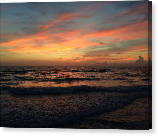 Ginger Sky  Canvas Print