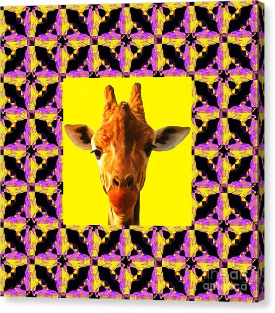 Abstract Giraffe Canvas Prints (Page #3 of 21) | Fine Art America