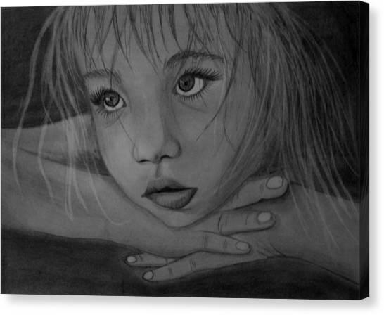 Girl Canvas Print by Pawel Heluszka