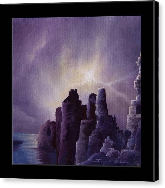Girnigoe Castle Canvas Print