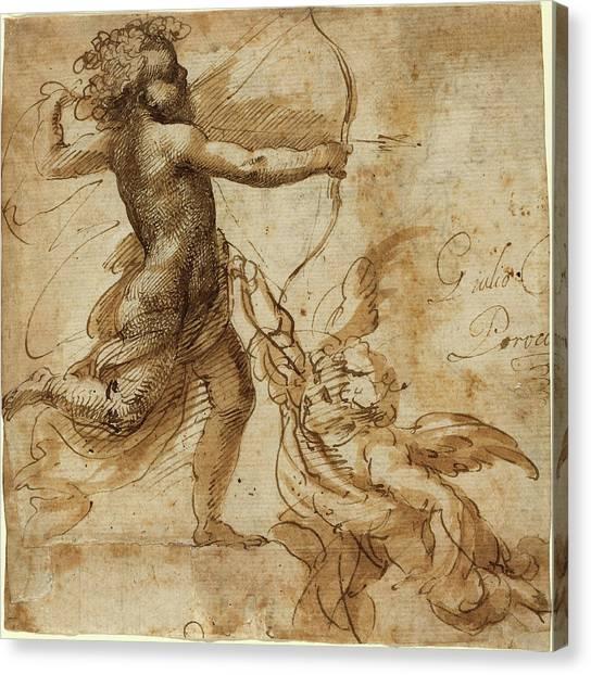Procaccini Canvas Print - Giulio Cesare Procaccini Italian, 1574 - 1625 by Quint Lox