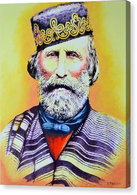 Giuseppe Garibaldi Canvas Print