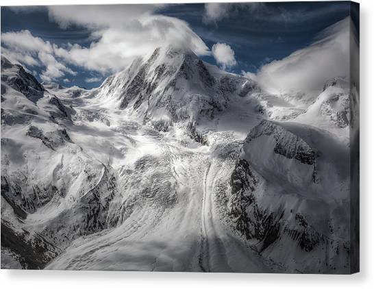 Switzerland Canvas Print - Glacial by Clara Gamito
