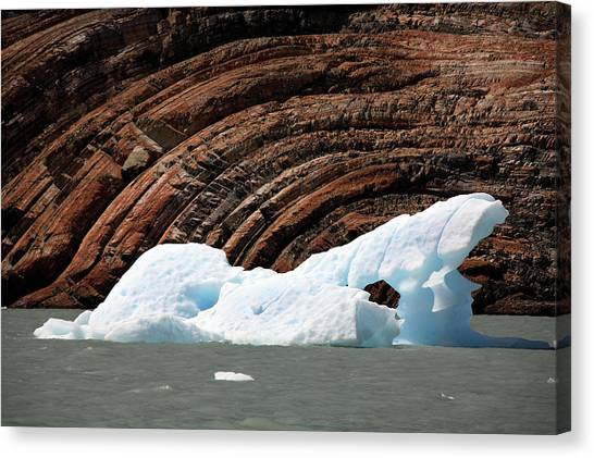 Glacial Groove Marks Canvas Print by Steve Allen/science Photo Library