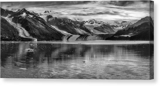 Margerie Glacier Canvas Print - Glacier Bay Alaska Panorama  by Gary Warnimont