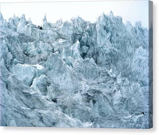 Cotopaxi Canvas Print - Glacier Ice by Dr Morley Read/science Photo Library