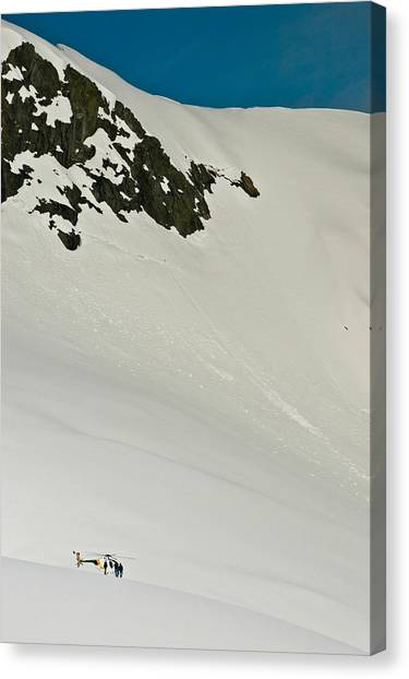 Fox Glacier Canvas Print - Glacier by Mark Llewellyn