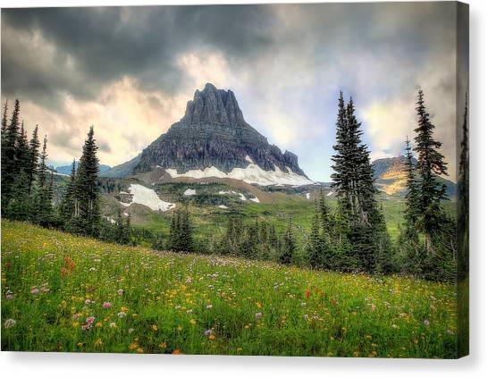 Glacier Meadows Canvas Print