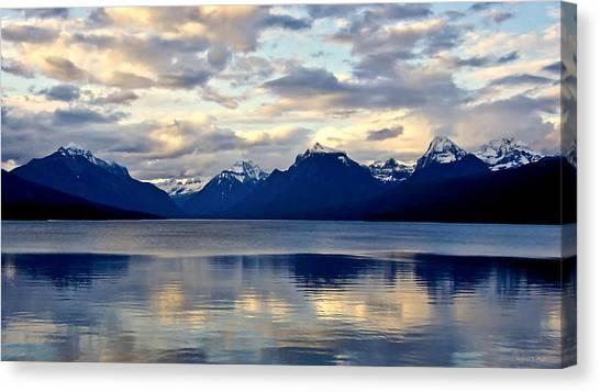 Glacier Morning Canvas Print