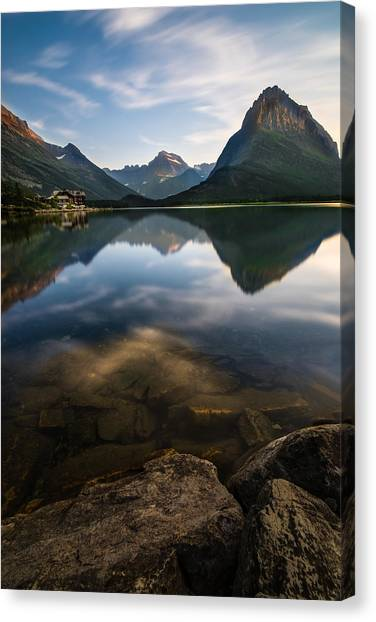 Glaciers Canvas Print - Glacier National Park 2 by Larry Marshall