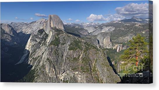 Glacier Point Pano Canvas Print
