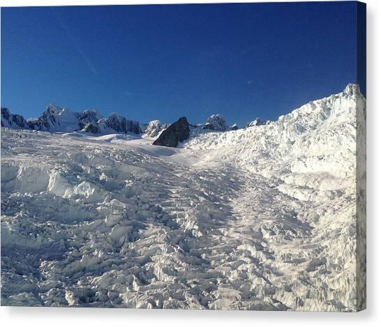 Glacier Canvas Print by Ron Torborg