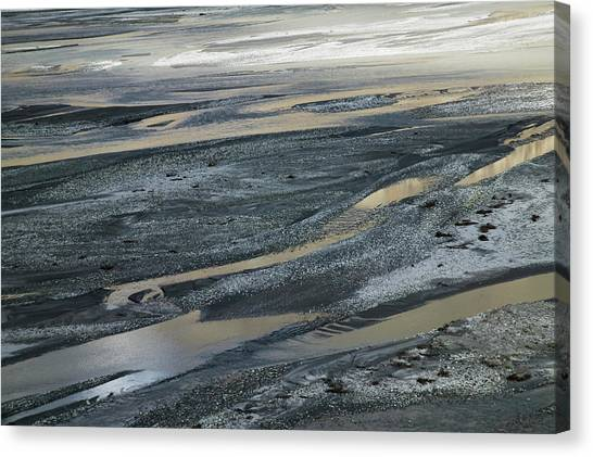 Himalayas Canvas Print - Glacier Water In The Karakorum, Nubra by Keren Su