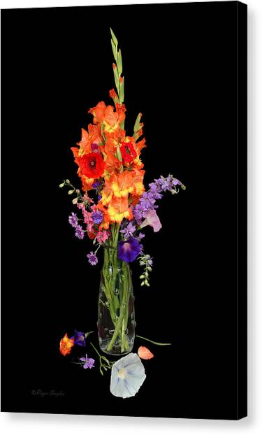 Glad Vase Canvas Print