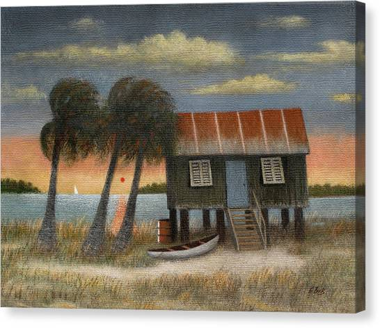Glades Dweller Canvas Print