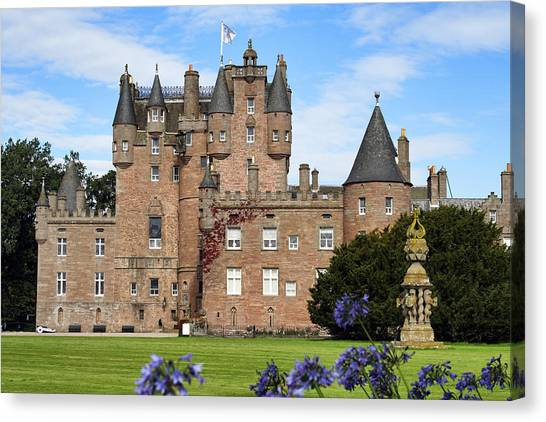 Glamis Castle Canvas Print