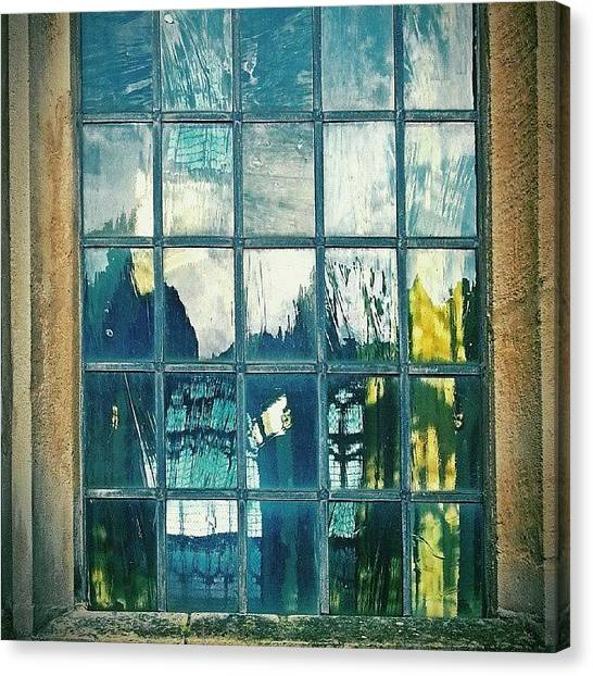 Gothic Art Canvas Print - #glass ... #window #cromer by Alexandra Cook