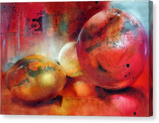 Glass Beads Canvas Print