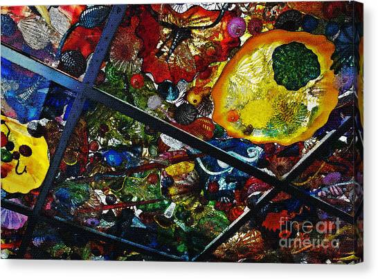 Glass Ceiling Abstract Canvas Print