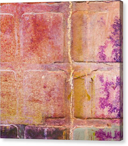 Pavers Canvas Print - Glass Crossings 2 by Carol Leigh